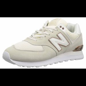 NEW BALANCE shoes with Rose Gold